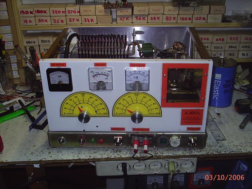 SW6HMU, STATHIS, PREVEZA, 700 Watts - 1 KW AM TRANSMITTER (4
